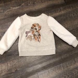 NWOT GAP Kids Star Wars Sweatshirt XS